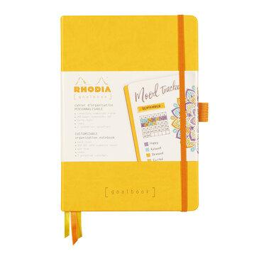 Rhodiarama : GoalBook Hardcover - A5 - Daffodil Yellow (5858)