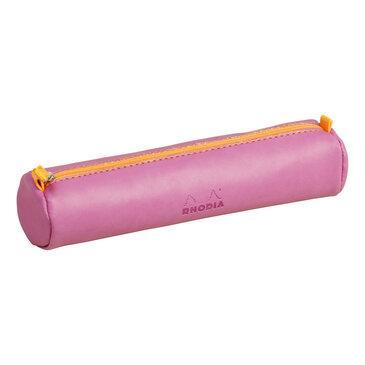 Rhodia : Round pencil case - Lilac (9915)