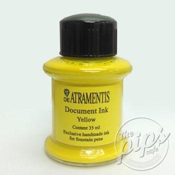 De Atramentis - Document ink - Yellow