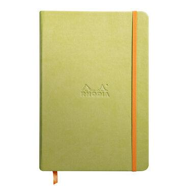 Rhodiarama : Notebook Hardcover - A5 - Anise Green (7463)