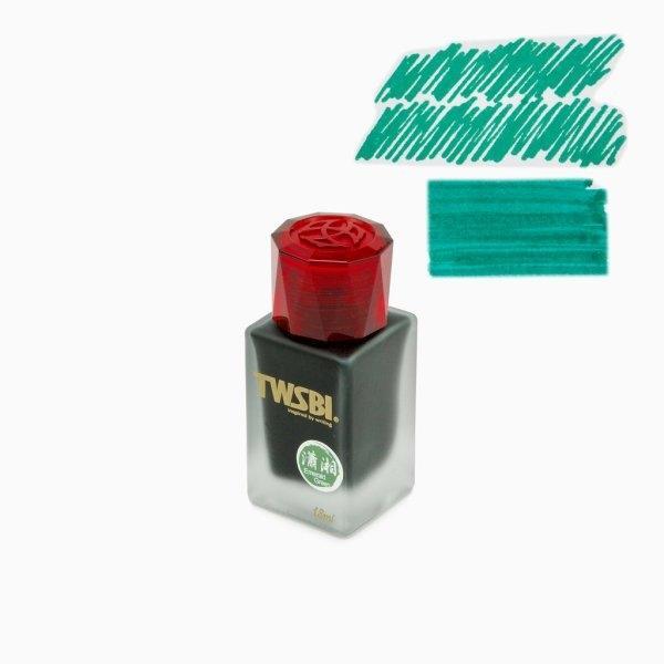 TWSBI : 1791 Emerald Green Ink (18ml.)