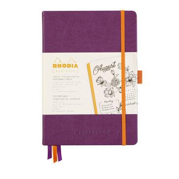 Rhodiarama : GoalBook Hardcover - A5 - Purple (5797)