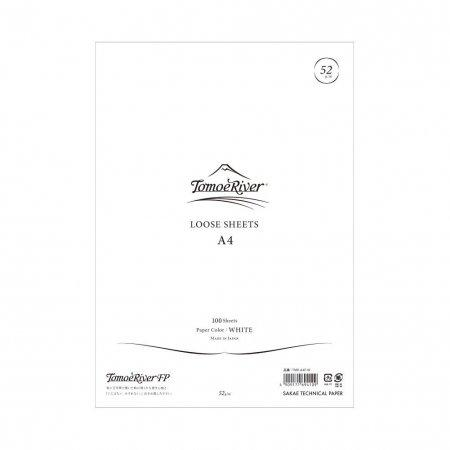Tomoe River - A4 Loose Sheet (52g) - Blank (100 Sheets)
