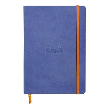 Rhodiarama : Notebook Softcover - A5 - Sapphire Blue (4586)