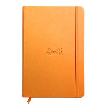 Rhodiarama : Notebook Hardcover - A5 - Orange (7555)