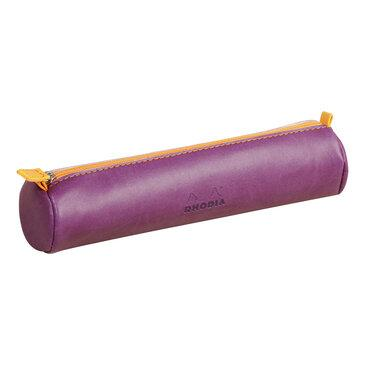 Rhodia : Round pencil case - Purple (9908)