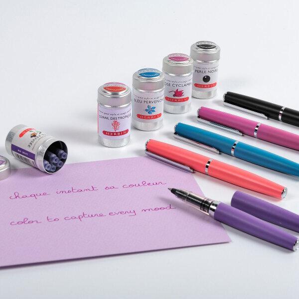 J.herbin : Metal Rollerball Pen - Purple