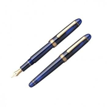 Platinum 3776 Century - Chartres Blue (Gold Trim)