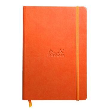 Rhodiarama : Notebook Hardcover - A5 - Tangerine (7548)