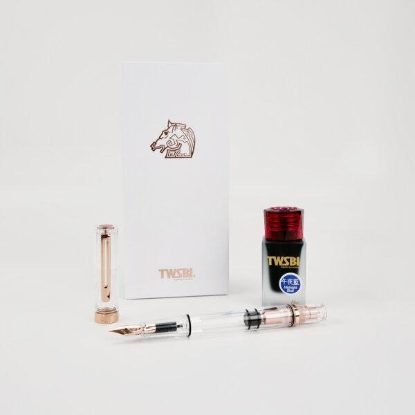 TWSBI ECO : ROSEGOLD GOLDEN HORSE AWARDS EDITION