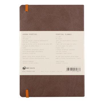Rhodiarama : Perpetual Softcover - A5 - Chocolate (1837)