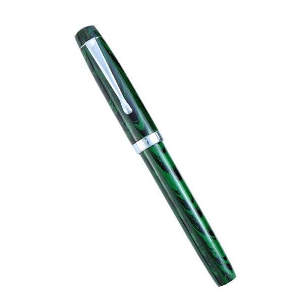 F.P.R Himalaya V2 - Green Ebonite (Ultra Flex Nib)