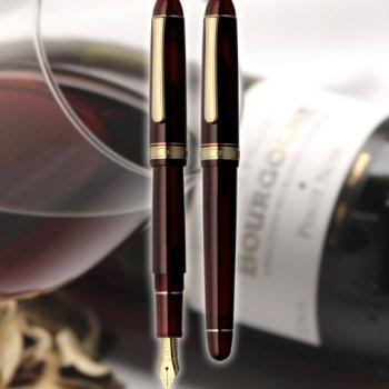 Platinum 3776 Century - Bourgogne (Gold Trim)