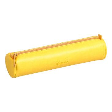 Rhodia : Round pencil case - Daffodil Yellow (9960)
