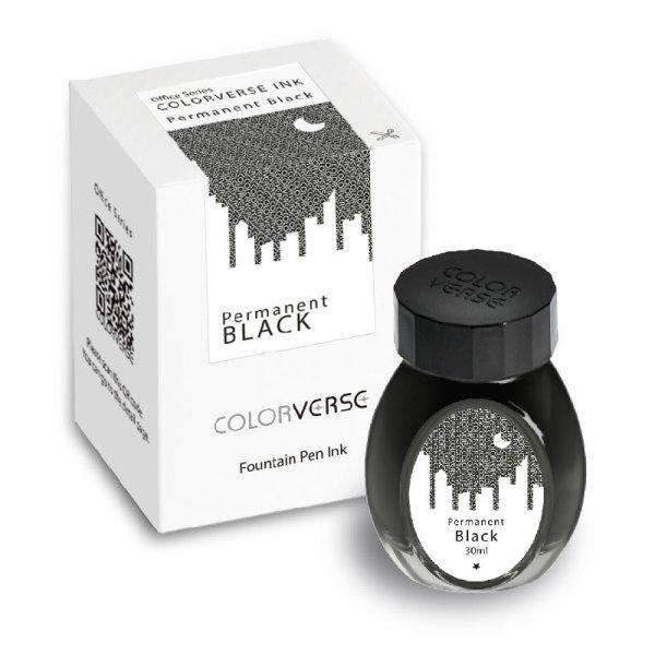 Colorverse Ink : Permanent Black (30 ml.)