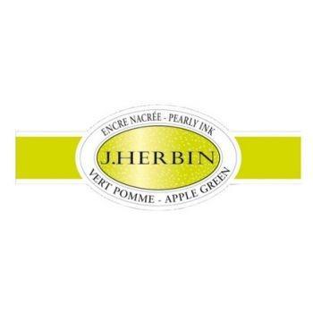 J.herbin Calligraphy Pearlescent Ink - Apple Green (15ml.)