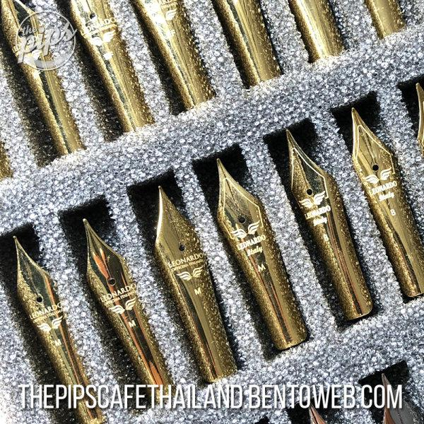 Leonardo - Replacement Nib (Gold Plated Steel)