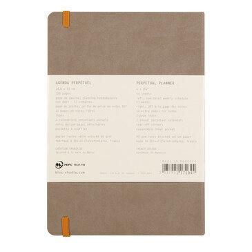 Rhodiarama : Perpetual Softcover - A5 - Taupe (1844)