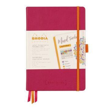 Rhodiarama : GoalBook Hardcover - A5 - Raspberry (5810)