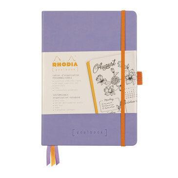 Rhodiarama : GoalBook Hardcover - A5 - Iris (5780)
