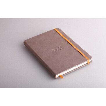 Rhodiarama : Notebook Hardcover - A5 - Taupe (7449)
