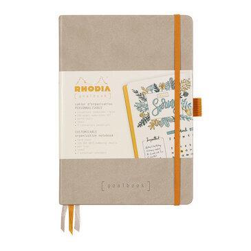 Rhodiarama : GoalBook Hardcover - A5 - Beige (5742)
