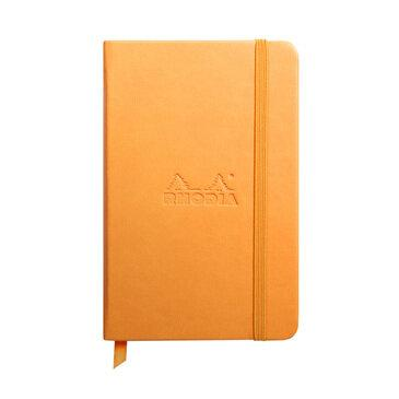 Rhodiarama : Notebook Hardcover - A6 - Orange (6558)