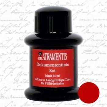 De Atramentis - Document ink - Red