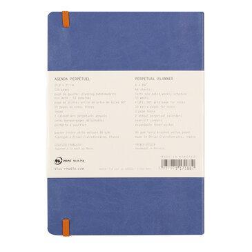 Rhodiarama : Perpetual Softcover - A5 - Sapphire Blue (1882)