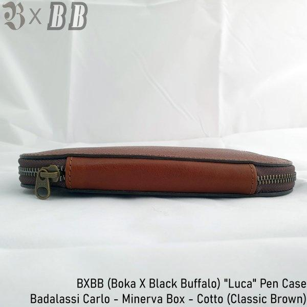 Boka X Black Buffalo - Luca Pen Case (Classic Brown)