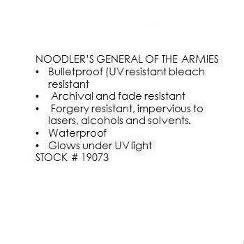 Noodler's - General of the Armies (3Oz.)