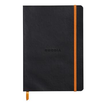 Rhodiarama : Notebook Softcover - A5 - Black (4524)