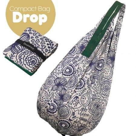 Shupatto Compact Bag - Drop - Flower
