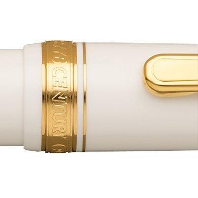 Platinum 3776 Century - Chenonceau White (Gold Trim)