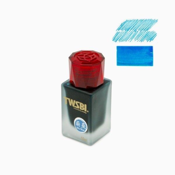 TWSBI : 1791 Sky Blue Ink (18ml.)