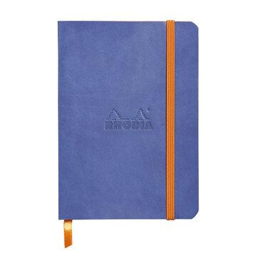 Rhodiarama : Notebook Softcover - A6 - Sapphire Blue (3589)