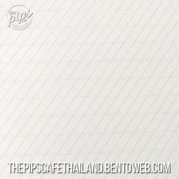PASCRIBE : Calligraphy Pad (55 Degree Guide) - White paper A4+