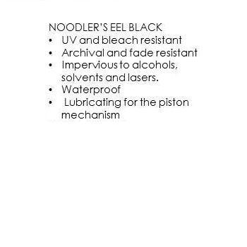 Noodler's - Eel Black (3Oz.)