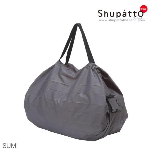 Shupatto Compact Bag - Tote Large - Sumi - gray