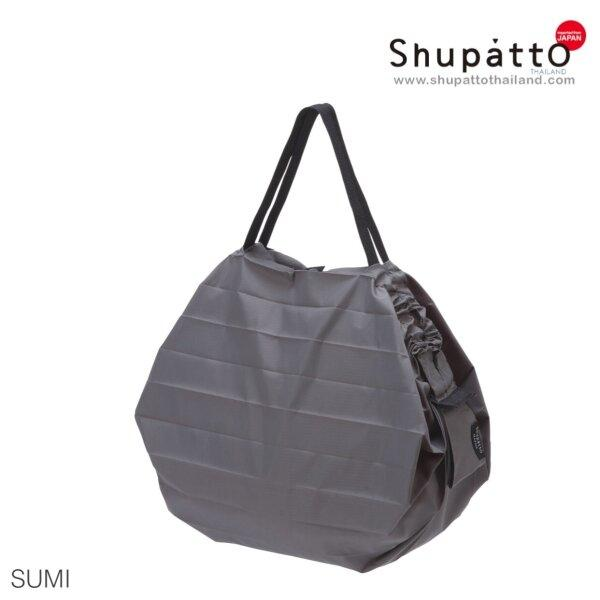 Shupatto Compact Bag - Tote Medium - Sumi - gray
