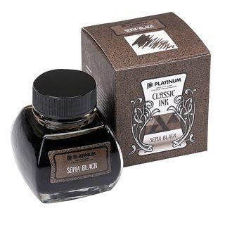 Platinum : Classic Ink - Sepia Black (60cc.)
