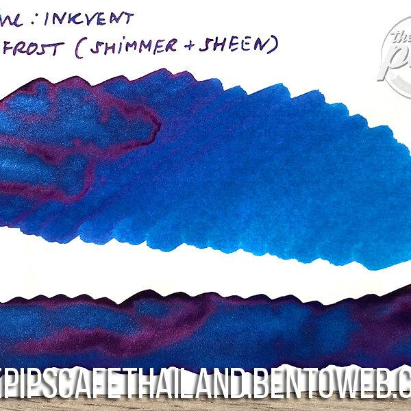 Diamine : Jack Frost (Shimmer+Sheen) - Inkvent Blue Edition (50ml.)