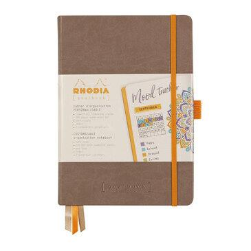 Rhodiarama : GoalBook Hardcover - A5 - Taupe (5735)