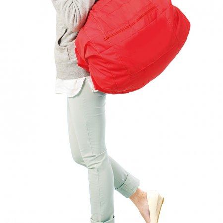 Shupatto Compact Bag - Travel Duffle Bag - Red