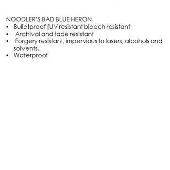 Noodler's - Bad Blue Heron (3Oz.)