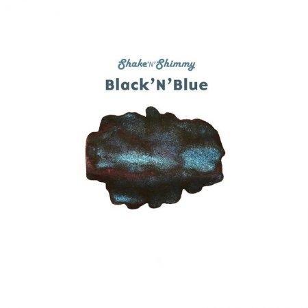 Robert Oster Signature - Shake 'N' Shimmy - Black 'N' Blue (50ml.)