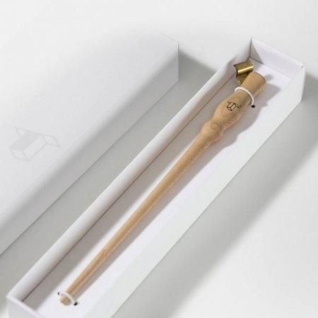 TYPER : Maple wood oblique pen holder