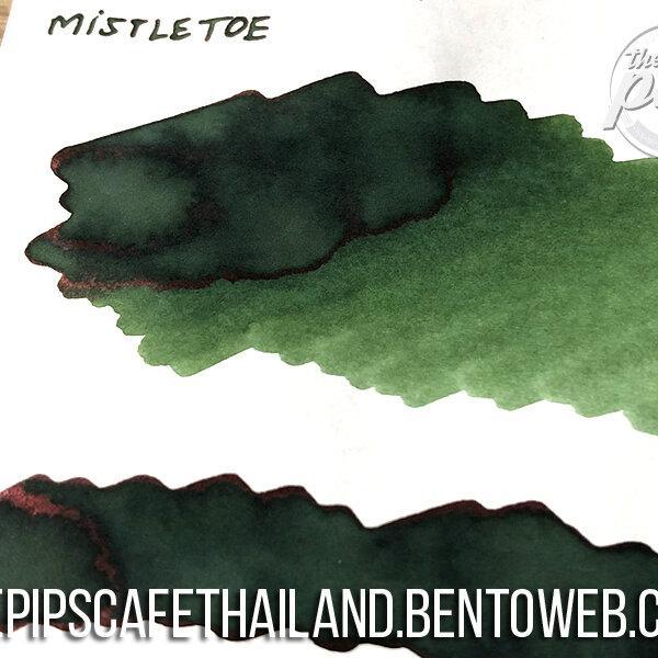 Diamine : Mistletoe - Inkvent Blue Edition (50ml.)