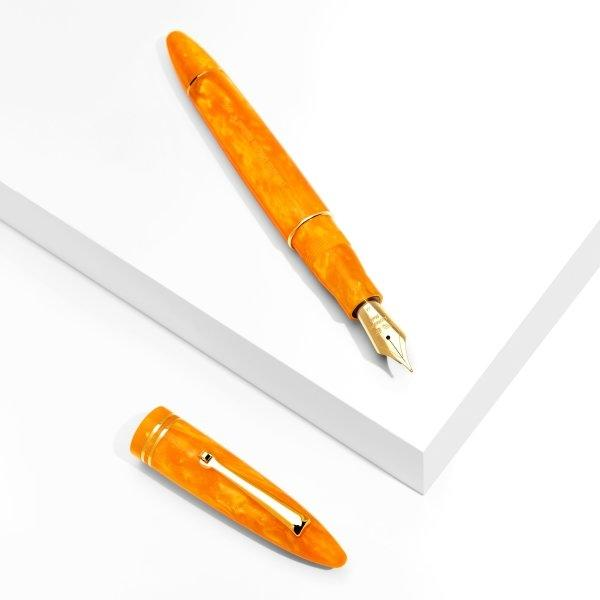 Leonardo Officina Italiana - Furore - Arancio Orange (Gold Trim)