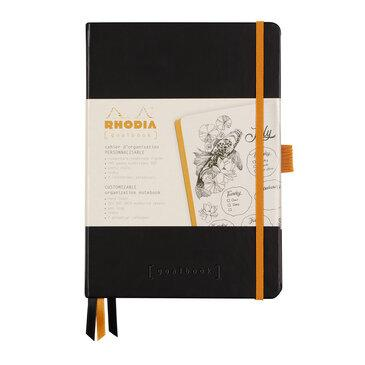 Rhodiarama : GoalBook Hardcover - A5 - Black (5711)